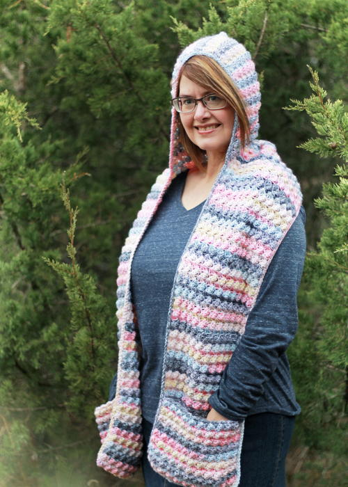 Fairy Tale Scoodie Pocket Scarf