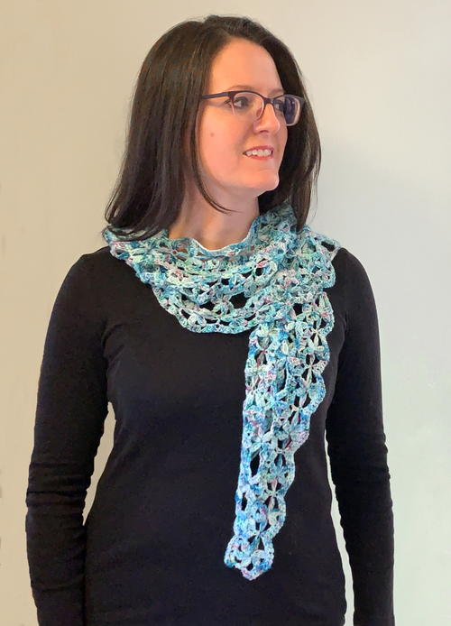 Waves Of Wildflowers Scarf