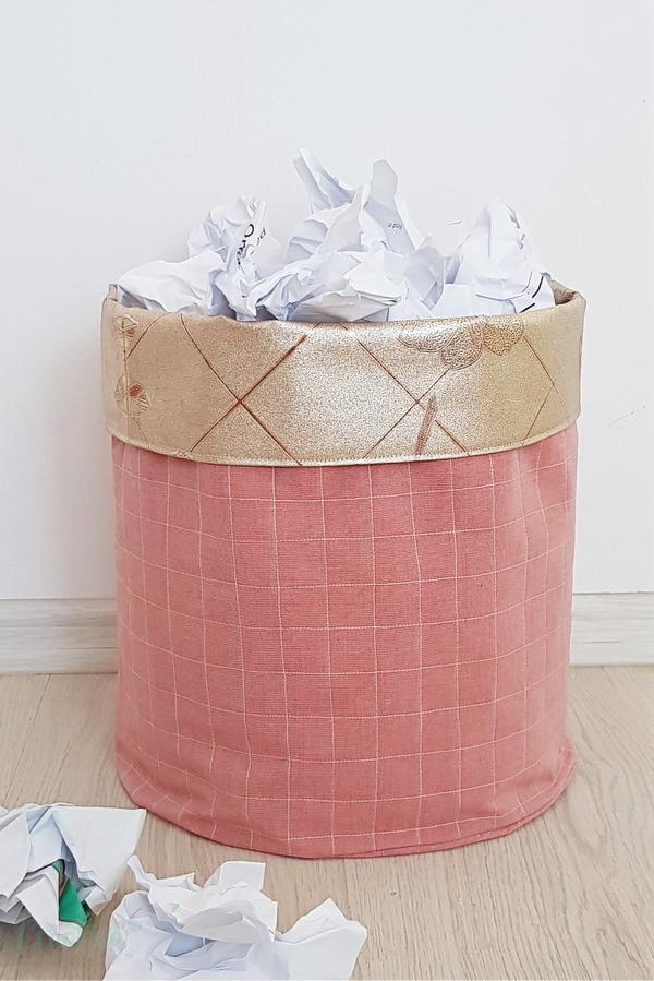 DIY Fabric Basket