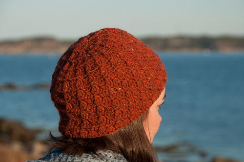 Textured Tweeed Hat