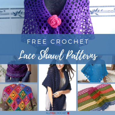 Free Crochet Lace Shawl Patterns