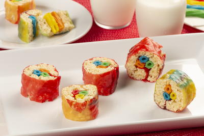 Fruit Roll Sushi