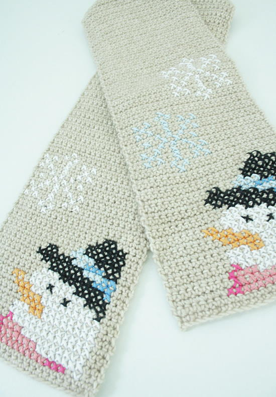 Kids Winter Scarf