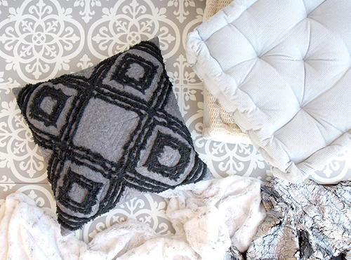 Quilted Boho Pillow Tutorial_1