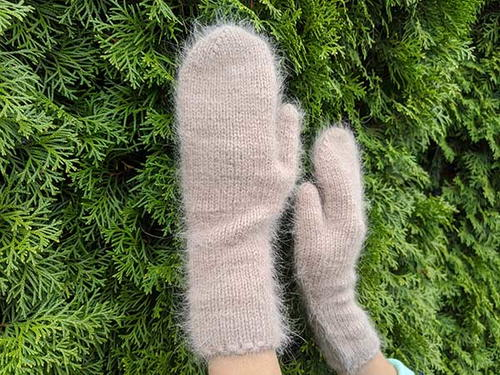 Stylish Diana Mittens