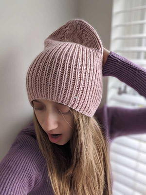 Queen Ribbed Beanie