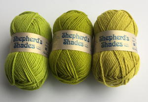Shades of Green Shepherd's Shades Yarn Giveaway