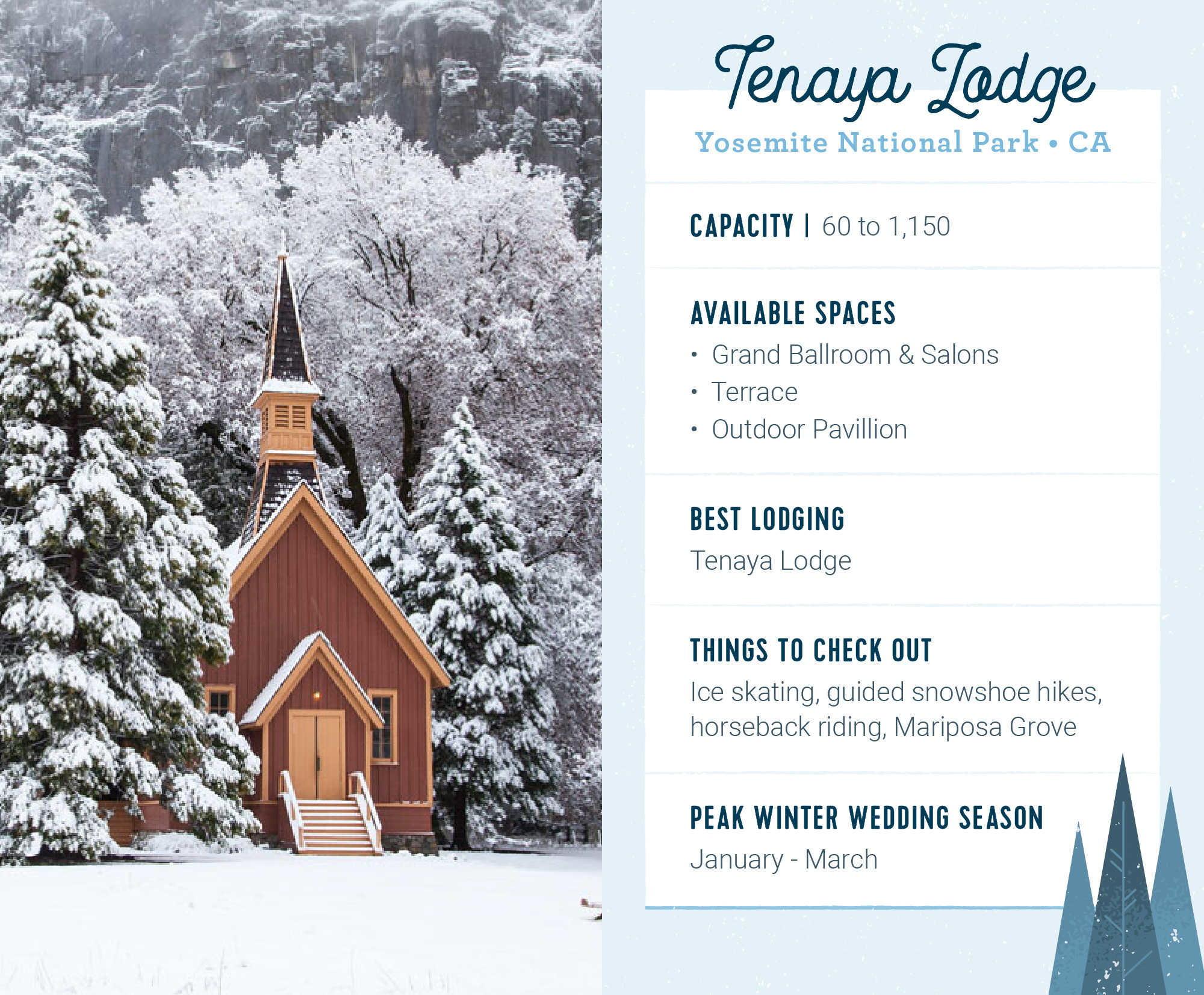 15 Enchanting Winter Wedding Venues | AllFreeDIYWeddings.com