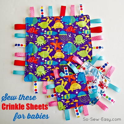 Crinkle Ribbon Toy For Babies
