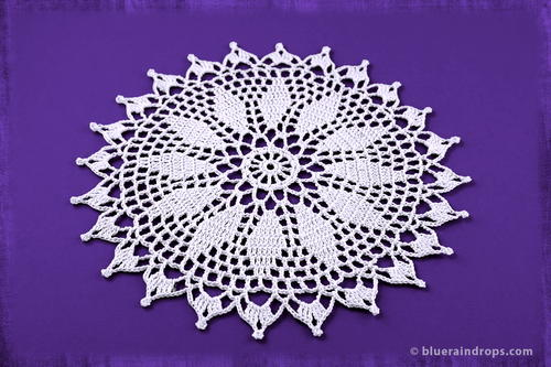 Crochet Spiked Doily