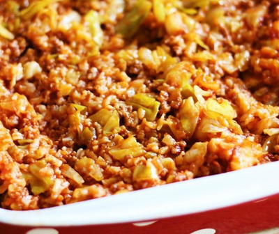 Lazy Day Cabbage Roll Casserole