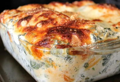 Spinach Artichoke Bubble Bake