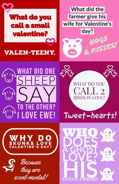 Free Printable Valentine's Day Lunchbox Jokes