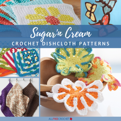 13 Sugarn Cream Dishcloth Patterns