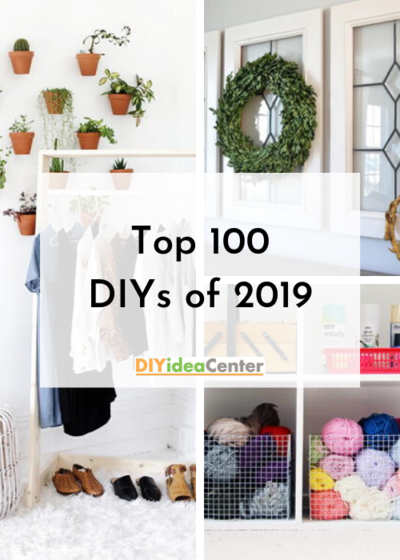 Top 100 Easy DIY Projects of 2019