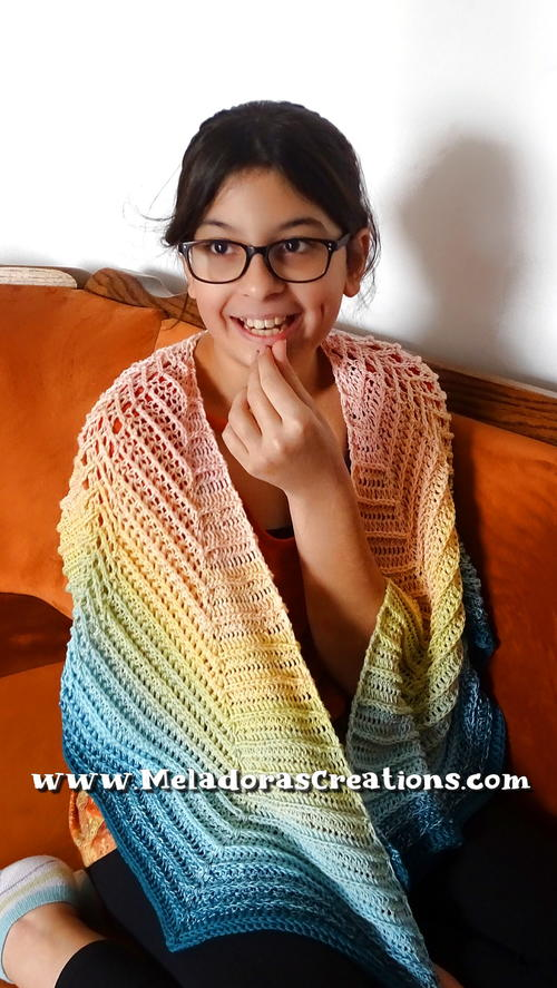 Butterfly Ripple Shawl