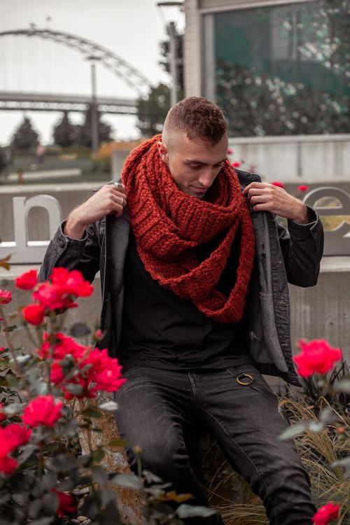 The Serpents Touch Scarf