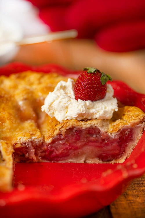 Baked Strawberry Pie