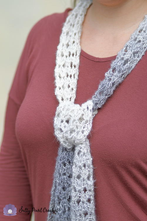 Diamond Lattice Summer Scarf