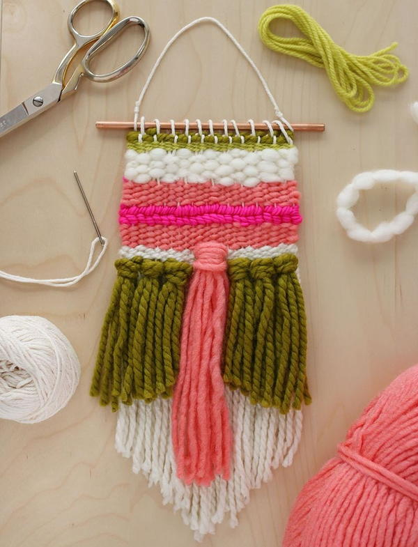 Image shows the Spring Fling Woven Wall Decor.