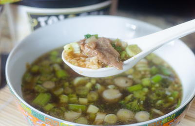 Asian Broccoli Beef Soup