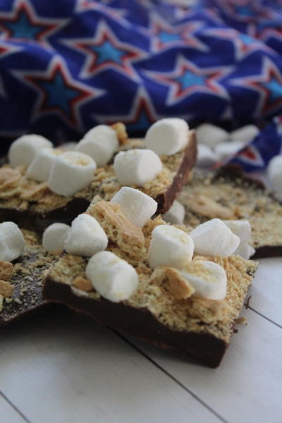 S'mores Bark Candy Recipe