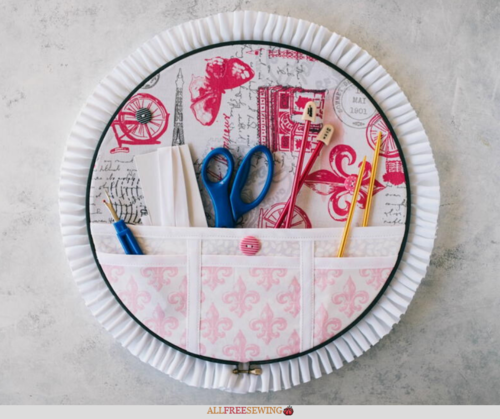 Embroidery Hoop Organizer Video Tutorial