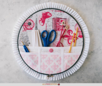 Embroidery Hoop Organizer (Video Tutorial)