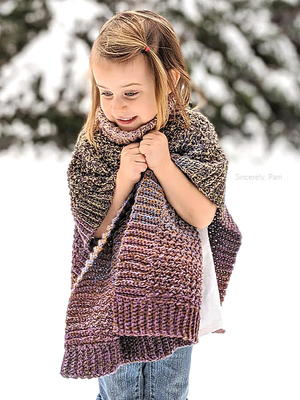 Lucky Penny Poncho (child)
