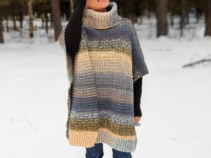 Lucky Penny Poncho for Ladies