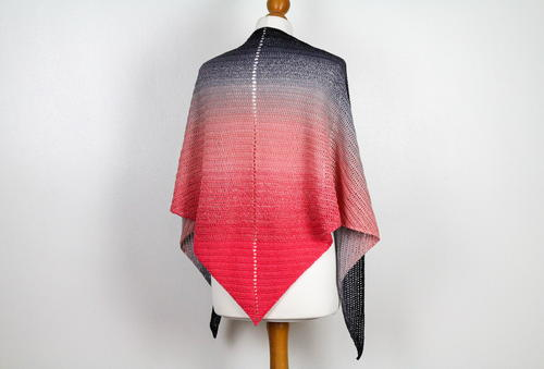 Bottom Up Shawl