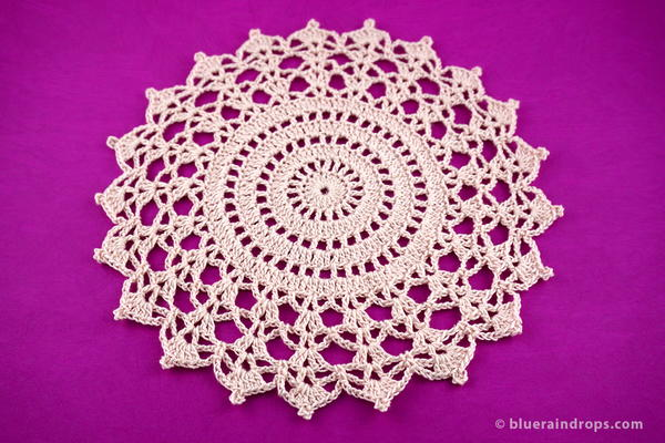 Crochet Cathedral Doily