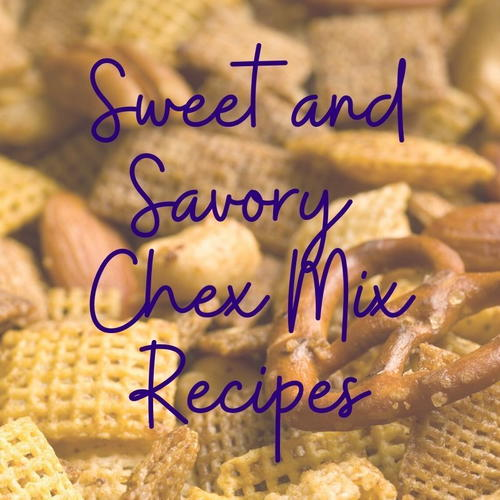 19 Sweet And Savory Holiday Chex Mix Recipes