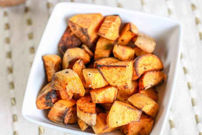 The Perfect Air-fryer Roasted Sweet Potatoes