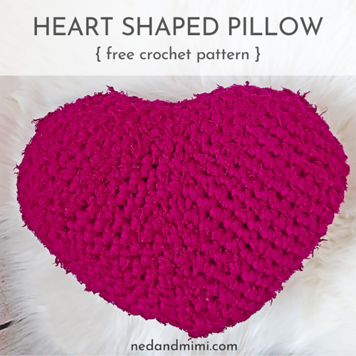 Chunky Heart Pillow