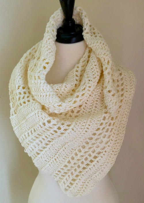 8-Hour Cabana Crochet Shawl Pattern