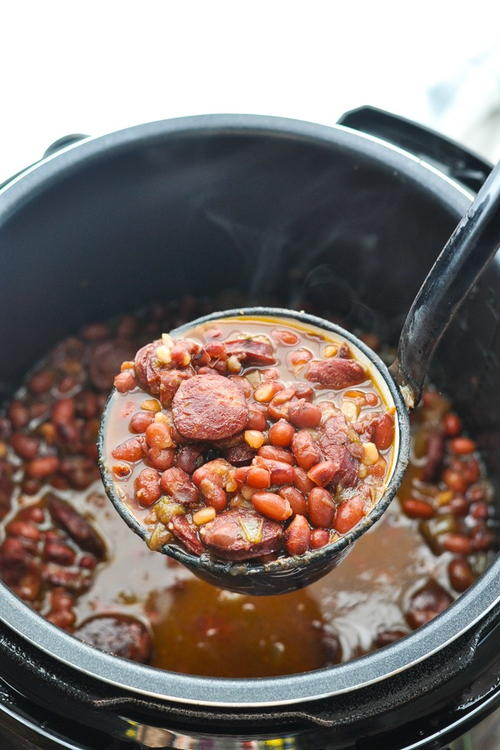 Red Beans And Rice {pressure Cooker Or Slow Cooker}