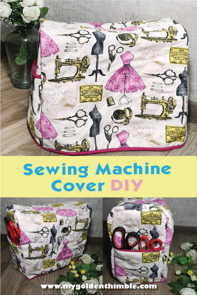 Sewing Machine Cover Pattern + Tutorial
