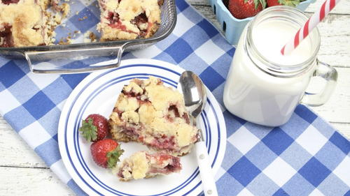 Strawberry Cobbler Recipe