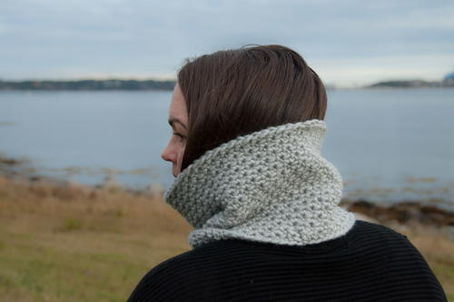 Quick Easy Textured Cowl
