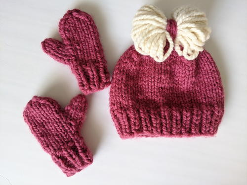 Super Bulky Toddler Mittens
