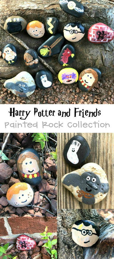 Harry Potter Kindness Rocks