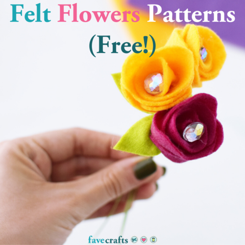 Felt Flowers Patterns Free