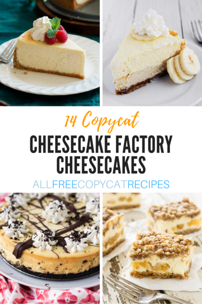 14 Copycat Cheesecake Factory Cheesecake Recipes