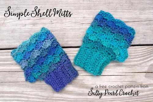 Simple Shell Mitts