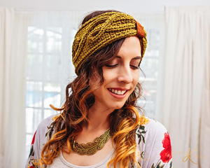 Traveling Vine Ear Warmer Crochet