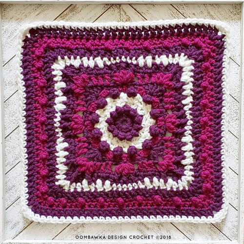 Magic Menhirs Afghan Square