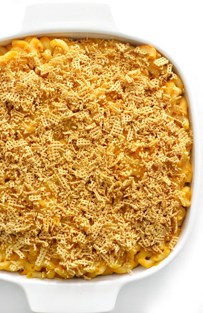 Baked Vegan Mac & Cheese (gluten-free, Allergy-free)