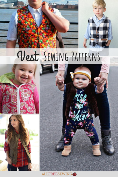 19 Vest Sewing Patterns