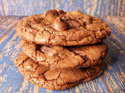 Brownie Mix Cookies Easy Brookies Recipe